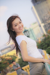 Beautiful day (-clicking-) Tags: portrait sunlight beautiful beauty smile sunshine smiling happy mood dof faces emotion bokeh expression happiness charm vietnam feeling lovely charming saigon visage vietnamesegirls charminggirl