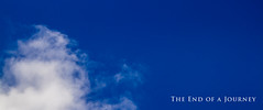 The End of a Journey (JGo9) Tags: blue sky clouds canon rip t1i