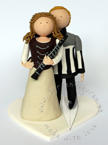 Eishockey Schiedsrichter Klarinetten Brautpaar A Photo On Flickriver