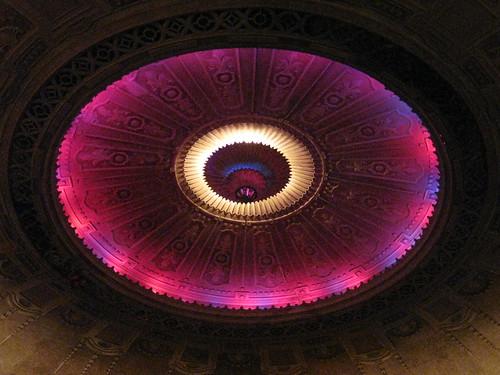 The Illuminated Main Dome of the Palais Theatre – Lower Esplanade, St Kilda