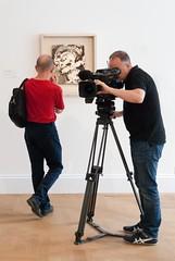 Filming and Head of Gerda Boehm, Frank Auerbach 1965 (jonnydredge) Tags: bowie davidbowie sothebys bowiecollector art nikon london moderneccentrics exhibitions jonathandredge auerbach