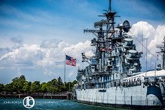 USA (JohnBorsaPhoto) Tags: park usa water museum river harbor boat canal buffalo ship waterfront outdoor flag military country navy patriotic inner corporation american erie patriotism naval development canalside echdc