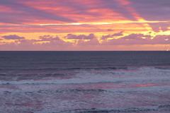 Ocean (denismartin) Tags: denismartin beach sea seashore seaside sand sandybeach sky cloud weather gironde aquitaine montalivet sunset sun wave ocean atlanticocean france