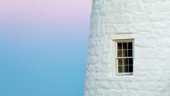 Pastel Sunset (ROPhoto77) Tags: abstract artistic blue bluesky coastal lighthouse maine pastel pemaquidpt pink summer sunset