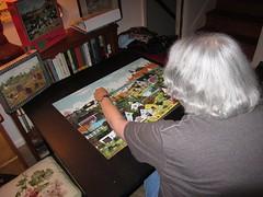 mom-puzzle_08-16-2016_4374 (tjallen54) Tags: puzzle jigsawpuzzle
