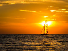 DSC_5922 (briansterken) Tags: dusk sailboat sunset sea seaside landscape shore outdoor serene beach water ocean vehicle boat sky sun coast lake lakemichigan michigan puremichigan