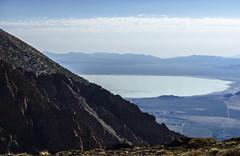 Mono Lake behind Mt Lewis SE ridge (speedcenter2001) Tags: nikonseriese75150mmf35 monolake monocounty california sierranevada sierra highsierra mountains anseladamswilderness hiking backpacking backcountry adventure