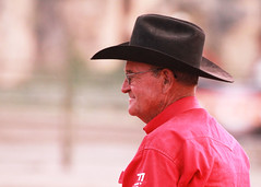 Rodeo Judge (RPahre) Tags: portrait judge rodeo dubois wyoming
