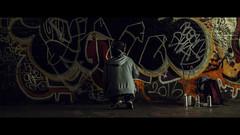 Leake Street Tunnel, London, UK (emrecift) Tags: candid street photography portrait leake graffiti tunnel waterloo london cinematic grain 2391 anamorphic fujifilm xpro1 fujinon xf35mm emrecift
