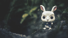 No Time to Waste! (3rd-Rate Photography) Tags: mctwisp nivinsmctwisp aliceinwonderland alicethroughthelookingglass whiterabbit funko pop toy toyphotography canon 50mm 5dmarkiii jacksonville florida vinyl 3rdratephotography earlware disney