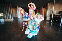 (. . .) Tags: valparaiso chile cosplay love live kotori girl blue