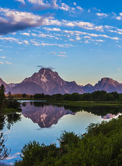 Oxbow Bend Sunrise (Wycpl) Tags: oxbowbend sunrise reflection grandtetonnationalpark morning water
