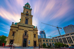 St. Johns the Evangelist Cathedral (andrewslaterphoto) Tags: architecture cathedral church city cityscape longexposure mke milwaukee stjohnstheevangelist wisconsin unitedstates us canon 5dmarkiii dearmke mkemycity architecturalphotography travelwisconsin discoverwisconsin leefilter