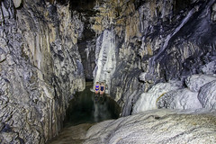 Spar Cave on Skye (Craig Hannah) Tags: sparcave elgol skye scotland 2016 august craighannah underground swimming swim clear cold water formations stalactites stalagmites flowstone