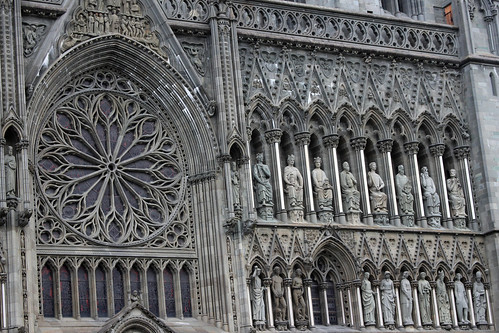 Nidaros Cathedral - Statuary on the Facade (1)