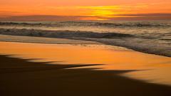 Atlntico (Giacomo della Sera) Tags: landscape paisaje atlantico ocean oceano sunset rojo red orange playa beah agua water serenidad puesta de sol cielo sky sand arena