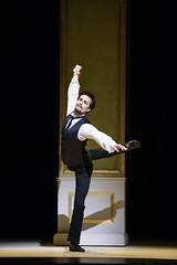 Valeri Hristov as John Singer Sargent in Strapless, The Royal Ballet  2016 ROH. Photograph by Bill Cooper (Royal Opera House Covent Garden) Tags: strapless production productionphoto bychristopherwheeldon actionshot theroyalballet valerihristov