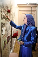 Paying tribute to Sunni Kurds executed in Iran by the Mullahs (maryamrajavi) Tags: maryamrajavi 1988 regime politicalprisoners resistance jacquesboutault paris ramayade ingridbetancourt iranianpolitical massacred iranian