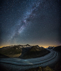 A night on the Aletsch Glacier (Sandro Bisaro) Tags: aletsch aletschglacier aletschgletscher sandrobisaro canon canon5dmarkiii canonef1635mmf28liiusm landscape landschaft night nightphotography milkyway stars sky clearsky gletscher nature glacier milchstrasse vialattea nacht sterne stellar astrophotography grosseraletschgletscher alps mountains mountain aletscharena valley switzerland swiss swissalps svizzera suisse schweiz