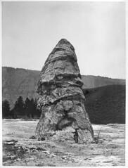 Liberty Cap at Mammoth Hot Springs (YellowstoneNPS) Tags: jackson heritagemuseum gardiner mt usa