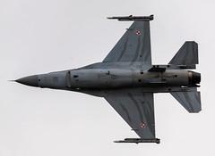 Polish F-16C #6 (JDurston2009) Tags: riat riat2016 royalinternationalairtattoo royalinternationalairtattoo2016 31blt airdisplay f16 f16c f16fightingfalcon lockheedmartinf16cfightingfalcon polishairforce raffairford royalinternationairtattoo airshow