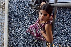 Sole 3 (Jezabel Galn) Tags: modelo model mujer woman huelva ra muelle del tinto luz light jezabel sky canon rflex