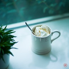 Ice coffee (shin) Tags: coffeeice ijs koffie koffieijs