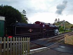 Swanage Railway 2016 (Daves Portfolio) Tags: swanage railway steam swanagesteamrailway dorset corfe castle station train locomotive corfecastle 2016