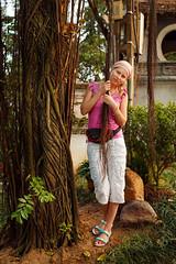 Angelica at Ngoc Son Temple, Hanoi (Sergey Emelyanov) Tags: travel family tree asia southeastasia traveller vietnam hanoi angelica hoankiem indochina ngocsontemple азия вьетнам ханой юговосточнаяазия индокитай templeofthejademountain