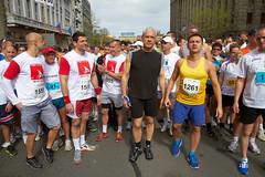 Boris Tadić na Beogradskom maratonu