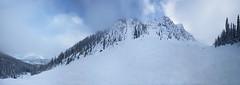 Feuz Bowl Panorama (DCZwick) Tags: trees winter sky snow canada ski mountains clouds rockies golden bc britishcolumbia rockymountains canadianrockies kickinghorse khmr kickinghorsemountainresort feuzbowl dogtoothrange
