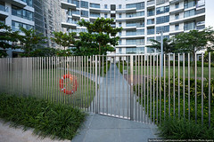 Wicket, Reflections at Keppel Bay, Singapore (varlamov) Tags: fence reflections singapore libeskind wicket keppelbay