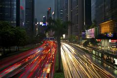Fujifilm X100 (Antony....) Tags: china longexposure light skyscraper geotagged hongkong trails hong kong metropolis rushhour lighttrails redlights whitelights wanchai gloucersterroad fujifilmx100 geo:lat=22279349395049213 geo:lon=11417054800098038 flickr6986946868