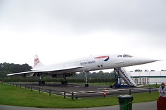 Concorde: G-BOAC (MCPCShowcaseHD) Tags: park manchester airport skies aviation queen concorde british airways fleet viewing the flagship gboac of