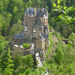 The solitude and beauty of Eltz castle (Bn) Tags: wood old trip family vacation green castle history castles nature beautiful stone fairytale century forest wonderful germany landscape geotagged deutschland spring topf50 solitude zoom hiking engineering visit disney medieval eifel valley historical imagination hd charming middle residence dreamlike 9th schloss topf100 fortress allemagne ages middleages burg mosel discover unchanged rheinlandpfalz schlsser moyenge eltz mittelalter burcht karden burgen mnstermaifeld eltzcastle moezel wierschem moselkern cindarellacastle 100faves 50faves elzbach burgenundschlsser grafvoneltz geo:lon=7336571 geo:lat=50204896