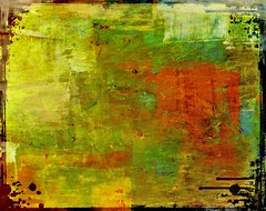 Paint Blended Drippy Metal Texture 008