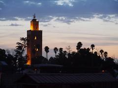 Koutoubia minaret, Marrakesh (Niall Corbet) Tags: minaret mosque morocco maroc marrakech marrakesh koutoubia