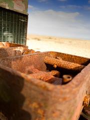 Beached Machine (Gareth Shapiro) Tags: uk beach machine dungeness effrafc