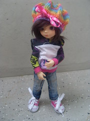 My lovely hat (Tiirikka) Tags: kay bjd minttu bbdoll dollzone