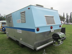 Holiday House Trailer - 1974 (MR38) Tags: house holiday vintage tin 1974 can tourist trailer rv camper