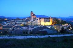 Urbino (Valentina Vassallo) Tags: city italy panorama canon landscape palace urbino palazzo marche ducale montefeltro 600d palazzoducaleurbino canon600d