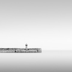 DunLaoghairePier_040512_MaggyMorrissey (MaggyMorrissey) Tags: ireland dublin lighthouse pier harbour dun laoghaire