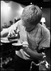 Makin' Da Art (-Dons) Tags: man cup austin milk texas unitedstates pitcher barista latteart coffeehouses houndstoothcoffee