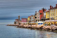Pirano (Fil.ippo) Tags: travel sea seascape landscape nikon mare madonna slovenia punta piran slovenija viaggi filippo pirano d5000 filippobianchi