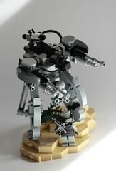 Disconnect CR1 (Andreas) Tags: desert lego vignette m4 mecha mech brickarms combatmech legocombatmech amavisor