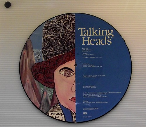 Talking Heads picture disc