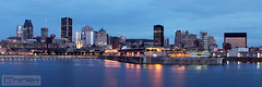 Montreal skyline (Nino H) Tags: canada skyline architecture night river downtown cityscape montral quebec qubec stlawrence stlaurent nuit fleuve