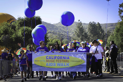 California Music Festival AIDS Walk 2012