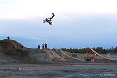 Hart Attack (Kevin Klingbeil) Tags: jump freestyle ramp air northwestterritories motocross yellowknife dirtbiking