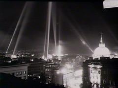 Fireworks display, Sydney: Royal visit, 1954